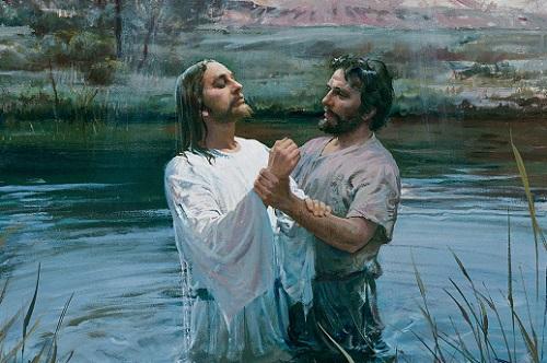 Kreshchenie Iisusa Hrista v Iordane