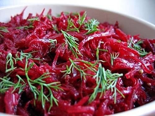 Рецепты вкусных и простых салатов с вареной свеклой