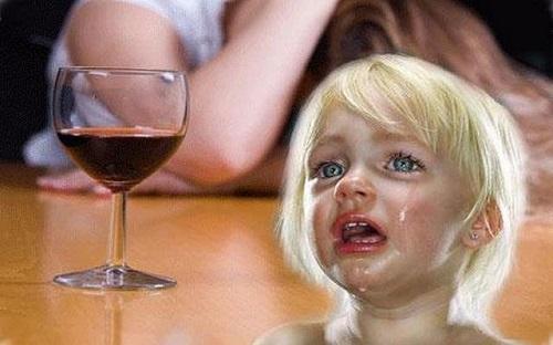 zhenskij alkogolizm i deti