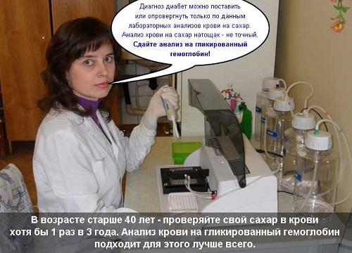 Analiz na glikirovannyj gemoglobin
