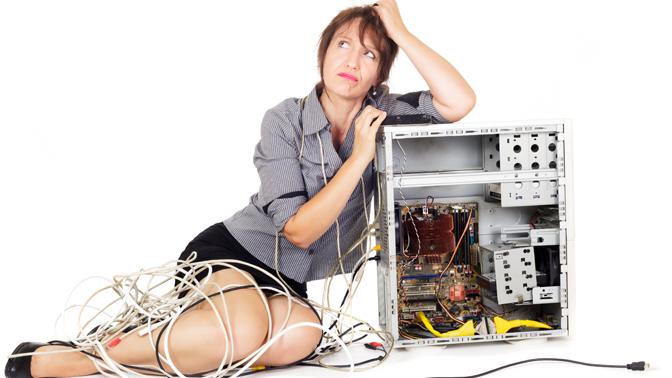 Что делать, если сломался компьютер?