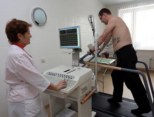 Kardiogramma. Proba s nagruzkoj