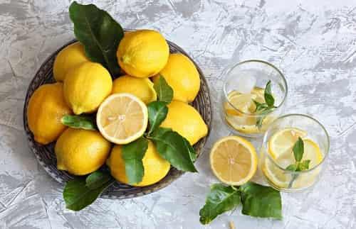 Limony bogaty antioksidantami