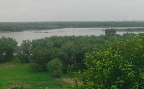 reka Ob' okolo Novo-Obincevo