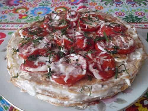 Kabachkovyj tort - recept s foto poshagovo s pomidorami