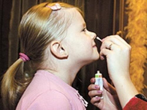 Oksolinovaya maz' dlya profilaktiki
