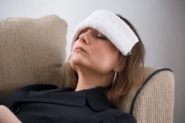 Холодный компресс при мигрени